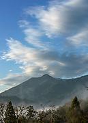 Cloud Formations and Mount Tamalpais, Marin County, California