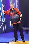 Stephen Bunting during the William Hill World Darts Championship Semi-Finals at Alexandra Palace, London, United Kingdom on 2 January 2021.