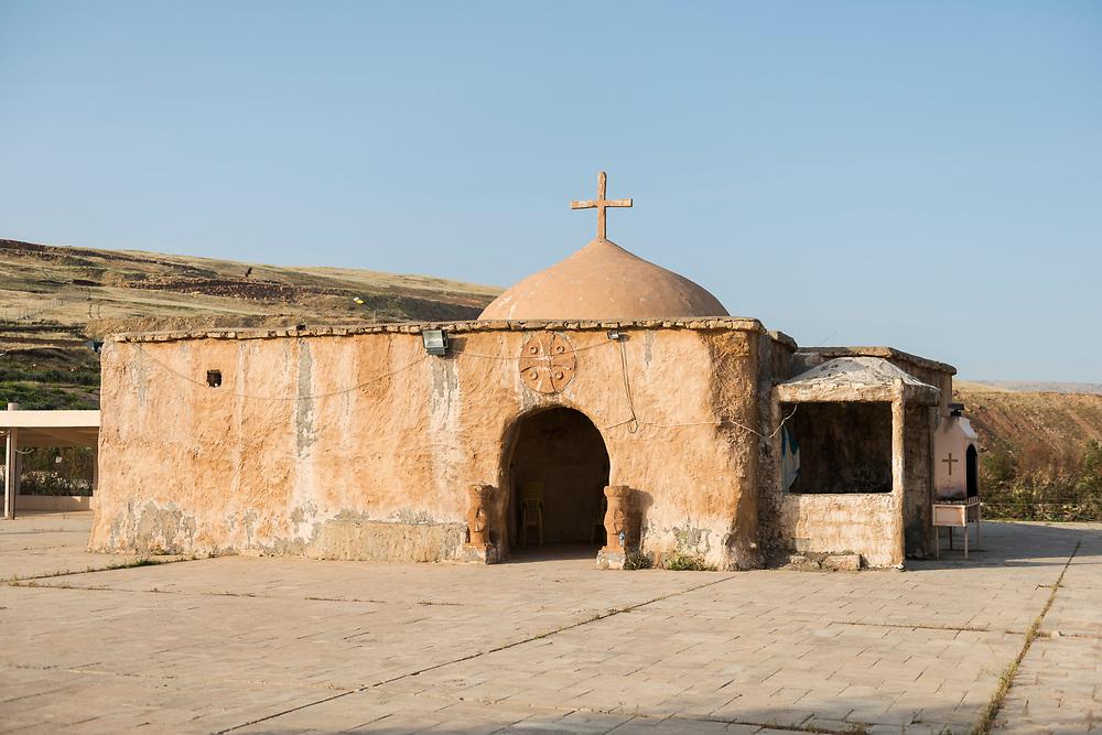 Shrine of Marbina Qadisha (Mar Benham) in Koya, a town in the northern region of Iraq often called Iraqi Kurdistan.
