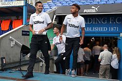 Derby County's Bradley Johnson (left) before the Sky Bet Championship match at the Madejski Stadium, Reading.