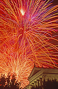 Philadelphia Museum of Art, Fireworks, July 4th, Philadelphia, PA
