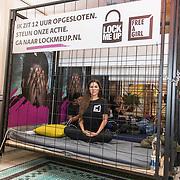 NLD/Amsterdam/20181105 - Lock me Up actie 2019, Yolanthe Sneijder-Cabau