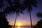 Sunset, Kadavu, Fiji<br />