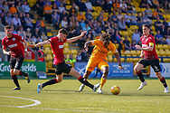 Dolly Menga of Livingstone during the Ladbrokes Scottish Premiership match between Livingston and St Mirren at Tony Macaroni Arena, Livingstone, Scotland on 20 April 2019.