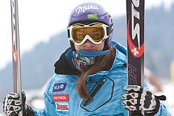 03.03.2011, Pista di Prampero, Tarvis, ITA, FIS Weltcup Ski Alpin, 2. Abfahrtstraining der Damen, im Bild Tina Maze (SLO) // Tina Maze (SLO) during Ladie's Downhill Training, FIS World Cup Alpin Ski in Tarvisio Italy on 3/3/2011. EXPA Pictures © 2011, PhotoCredit: EXPA/ J. Groder
