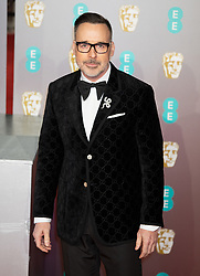 David Furnish attends the EE British Academy Film Awards (BAFTA) Red Carpet Arrivals at The Royal Albert Hall in London, 10 February 2019.<br />