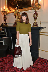 ALEXANDRA ROACH at the Audi Ballet Evening at The Royal Opera House, Covent Garden, London on 23rd April 2015.