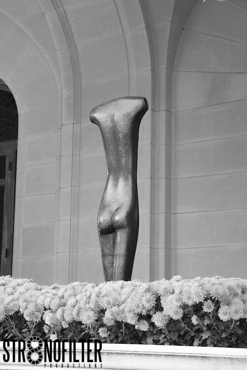 Beautiful Sculpture found in the Rockefeller Garden