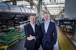 David Abramo Randon e Daniel Randon. FOTO: Jefferson Bernardes/ Agência Preview