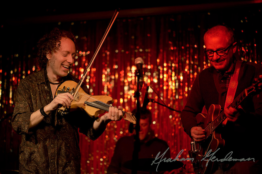 Violinist Tracy Silverman joins the Jack Silverman Ordeal live at the Stone Fox in Nashville, TN
