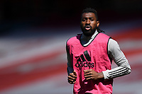 Football - 2020 /2021 Premier League - Arsenal v Fulham - Emirate Stadium<br /> <br /> Fulham's Andre-Frank Zambo Anguissa during the pre-match warm-up.<br /> <br /> COLORSPORT
