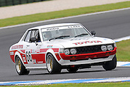 Doug Clark - Toyota Celica - Group D.Historic Motorsport Racing - Phillip Island Classic.18th March 2011.Phillip Island Racetrack, Phillip Island, Victoria.(C) Joel Strickland Photographics.Use information: This image is intended for Editorial use only (e.g. news or commentary, print or electronic). Any commercial or promotional use requires additional clearance.