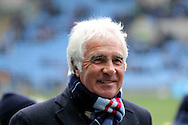Bobby Gould before the Sky Bet League 1 match between Coventry City and Bury at the Ricoh Arena, Coventry, England on 13 February 2016. Photo by Chris Wynne.