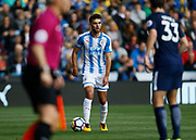 Huddersfield Town's Tommy Smith during the Premier League match between Huddersfield Town and Tottenham Hotspur at the John Smiths Stadium, Huddersfield, England on 30 September 2017. Photo by Paul Thompson.