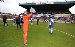 Bristol Rovers' Will Puddy - Photo mandatory by-line: Alex James/JMP - Mobile: 07966 386802 - 03/05/2015 - SPORT - Football - Bristol - Memorial Stadium - Bristol Rovers v Forest Green Rovers - Vanarama Football Conference