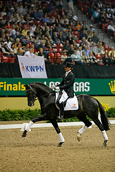 Gal Edward (NED) - Wynton<br /> Young Horse competition<br /> World Cup Final Las Vegas 2009<br /> Photo © Dirk Caremans