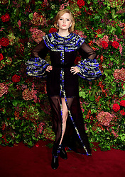 Ellie Bamber attending the Evening Standard Theatre Awards 2018 at the Theatre Royal, Drury Lane in Covent Garden, London.