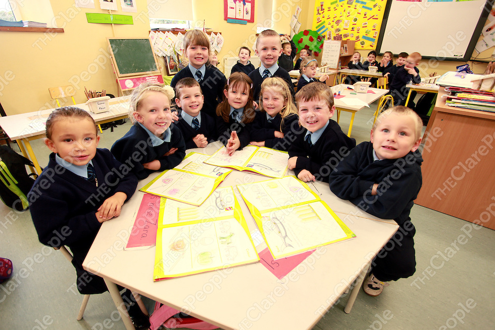 Mullagh National School Junior Infants.<br /> Photograph by Yvonne Vaughan