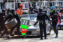 May 13, 2018 - Monza, Italie - 77 PROTON COMPETITION (DEU) PORSCHE 911 RSR GTE MARVIN DEINST (DEU) CHRISTIAN RIED (DEU) MARC LIEB  (Credit Image: © Panoramic via ZUMA Press)