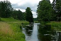 Rzeka Rospuda we wsi Chodorki, 12.07.2009. fot Michal Kosc / AGENCJA WSCHOD