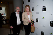 SIR PETER BLAKE; LADY BLAKE, Told, The Art of Story by Simon Aboud. Published by Booth-Clibborn editions. Book launch party, <br /> St Martins Lane Hotel, 45 St Martins Lane, London WC2. 8 June 2009