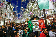 Ambiance Mexico fans at Nikolskaya Plaza during the 2018 FIFA World Cup Russia on June 13, 2018 in Moscow, Russia - Photo Thiago Bernardes / FramePhoto / ProSportsImages / DPPI