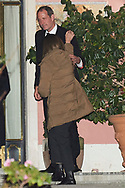 Bruno Gomez-Acebo attends Princess PIlar Borbon funeral chapel  installed in the Gomez-Acebo house on January 8, 2020 in Madrid, Spain