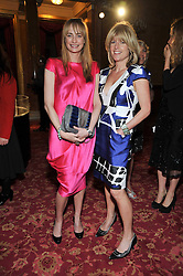 Left to right, CLEMENTINE FRASER and RACHEL JOHNSON at a party to celebrate 300 years of Tatler magazine held at Lancaster House, London on 14th October 2009.