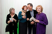 SORCHA CUSACK; ANNA CHANCELLOR; RICHARD E. GRANT; JUDY PARFITT, English National Ballet Beyond Ballets Russes at the London Coliseum opening night party at the St Martins Lane Hote, Londonl . 22 March 2012.