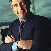 Portrait of CBS Television president Leslie Moonves. ©Todd Bigelow. <br /> <br /> Please Contact Legal@ToddBigelowPhotography.com With Your Licensing Request.