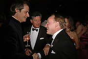 David Faber, Peter Soros and Andrew Roberts, The Blush Ball, Natural History Museum, London<br />Breast Cancer Haven trust charity evening for the construction of a third Haven in North England. ONE TIME USE ONLY - DO NOT ARCHIVE  © Copyright Photograph by Dafydd Jones 66 Stockwell Park Rd. London SW9 0DA Tel 020 7733 0108 www.dafjones.com