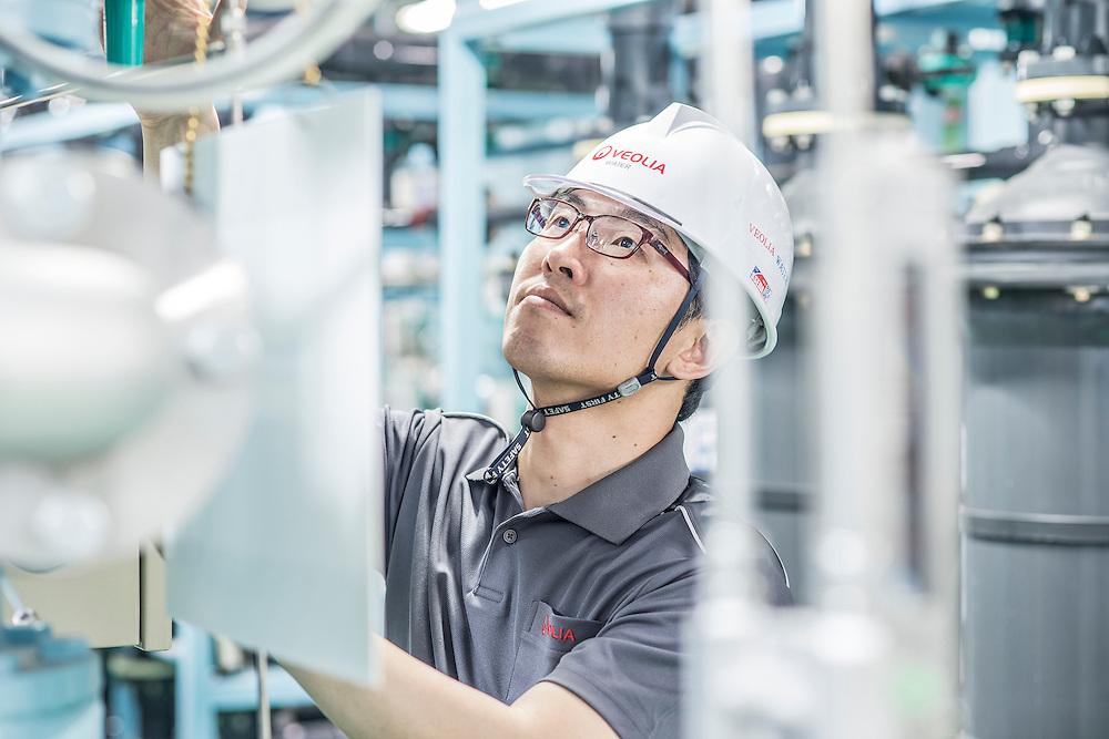 Korea / Icheon <br /> <br /> Sk Hynix Plant in Icheon <br /> <br /> <br /> © Daniele Mattioli China Corporate Photographer for Veolia