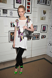 LYDIA HEARST at the MAC Salutes party paying tribute to renowned makeup artists held at The Hosptal, Endell Street, London on 22nd February 2009.