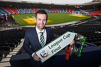 12/03/15 <br /> HAMPDEN - GLASGOW <br /> Celtic Manager Ronny Deila looks ahead to his side's forthcoming Scottish League Cup Final against Dundee United