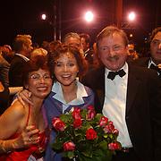 Premiere Sound of Music, Maaike Widdershoven en haar vader en moeder