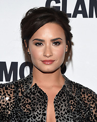 November 14, 2016 - Hollywood, California, U.S. - Demi Lovato arrives for the Glamour Women of the Year Awards 2016 at the Neuehouse Hollywood. (Credit Image: © Lisa O'Connor via ZUMA Wire)