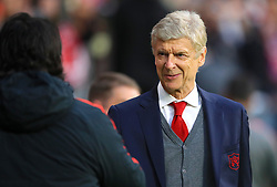 Arsenal manager Arsene Wenger during the UEFA Europa League, Semi Final, Second Leg at Wanda Metropolitano, Madrid.