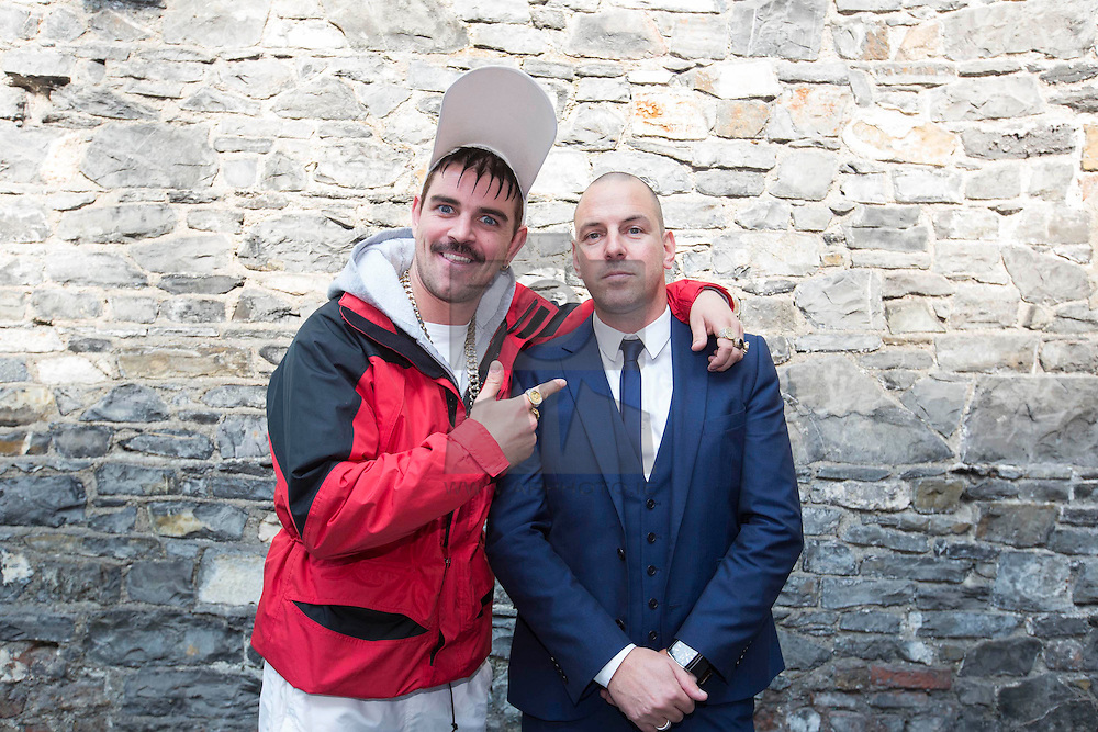 Repro Free: 11/09/2014<br /> Andy Quirke a.k.a. Damo from Damo and Ivor is pictured with RTE Channell controller Bill Malone at the RTÉ Two New Season Launch in Gateway House, Capel Street. Picture Andres Poveda<br />  pictured at the RTÉ Two New Season Launch in Gateway House, Capel Street. Picture Andres Poveda