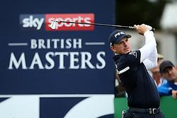 Matt Wallace during day two of the British Masters at Walton Heath Golf Club, Surrey.