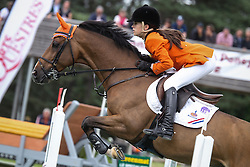 Nooren Lisa (NED) - Rock Dee Jea<br /> European Championship Poney - Fontainebleau 2012<br /> © Dirk Caremans