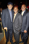 l to r: Von Harper, stephen Hill and Charles Warfield at The Urban Network Magazine and Alistair Entertainment V.I.P Reception honoring Stephen Hill & Charles Warfield & theCelebration of Urban Network's 21st Anniversary held at the Canal Room on May 13, 2009 in New York City .