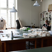 Copenaghen, Denmark, March, 2010. Students form the Danmarks Designskole, <br /> The Danish Design School.