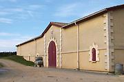 Winery building. Chateau de Haux, Bordeaux, France