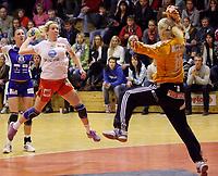 Håndball , Postenligaen<br /> Totenhallen<br /> 26.10.08<br /> Toten HK v Larvik  15-45<br /> Foto: Dagfinn Limoseth, Digitalsport<br /> <br /> Anniken Jansen , Larvik
