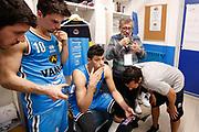 Spogliatoio Vanoli Cremona, VANOLI CREMONA vs BETALAND CAPO D'ORLANDO, 30^ Campionato Lega Basket Serie A 2017/2018, PalaRadi Cremona 9 maggio 2018 - FOTO: Bertani/Ciamillo