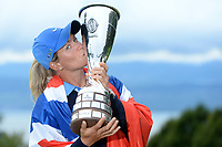 Golf - The Evian Championship 2013 - Evian - France - 9 -15/09/2013 - Photo Philippe Millereau / KMSP / DPPI - 15/09/2013 - Day 7 - Third round and final round - Suzann Pettersen / Nor - Winner