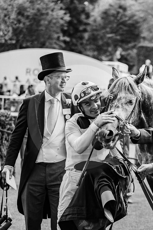 Defoe (A. Atzeni) wins The Hardwicke Stakes Gr.2 at Royal Ascot, 22/06/2019, photo: Zuzanna Lupa