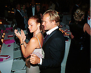 Stella McCartney dancing with Sting, 30th Aniversary Gala Dinner, Serpentine Gallery.20 June 2000<br />