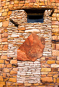 Petroglyph panel at Desert View Watchtower, Grand Canyon National Park, Arizona USA