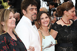 Un Certain Regard jury members Julie Huntsinger, Kantemir Balagov, Annemarie Jacir, Virginie Ledoyen and Un Certain Regard jury president Benicio Del Toro attending the screening of Everybody Knows (Todos Lo Saben) opening the 71st annual Cannes Film Festival at Palais des Festivals on May 8, 2018 in Cannes, France. Photo by Shootpix/ABACAPRESS.COM of 'Everybody Knows (Todos Lo Saben)' and the opening gala during the 71st annual Cannes Film Festival at Palais des Festivals on May 8, 2018 in Cannes, France.